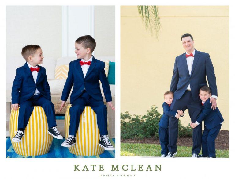 Family Photoshoot at Margaritaville Resort Orlando Kate Mclean photography