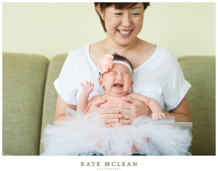Orlando family photographer central florida in home infant session