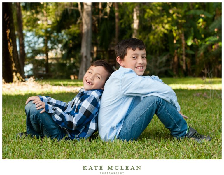 Family Photography at Downtown Orlando's Leu Gardens