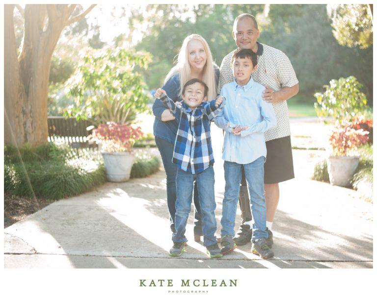 Family Photography at Downtown Orlando's Leu Gardens