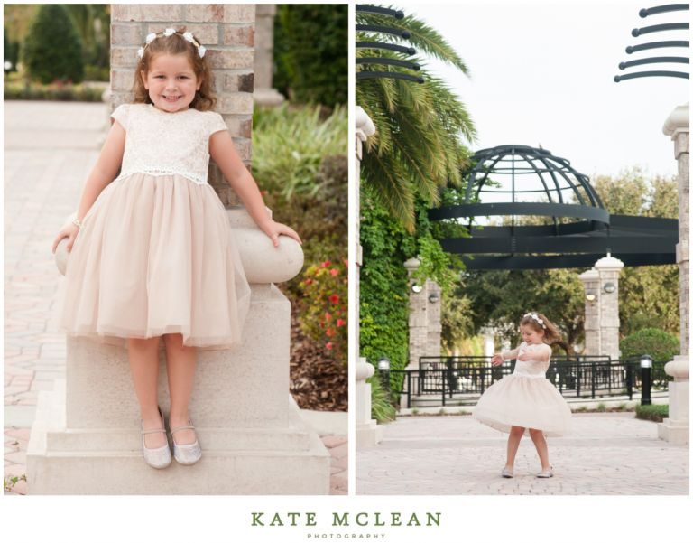 Champagne Clad Family Photography in Winter Springs