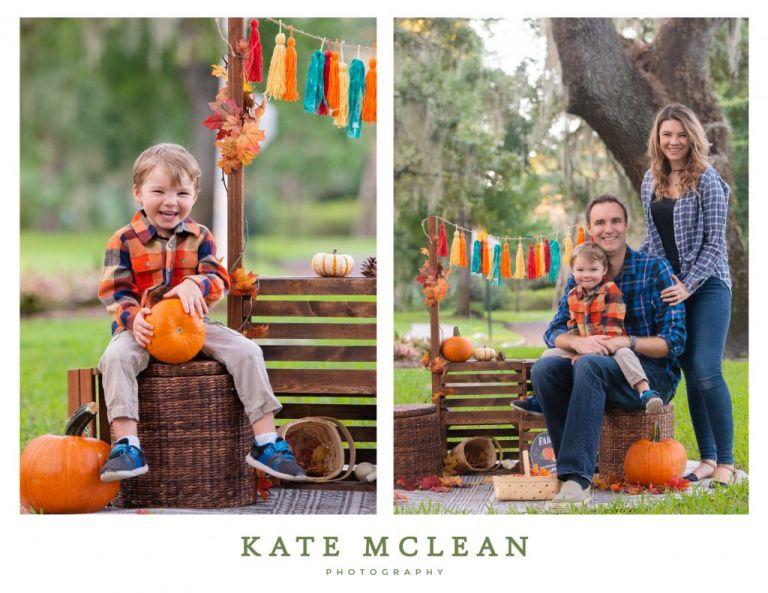 Pumpkin Patch Fall Mini Sessions Orlando Florida