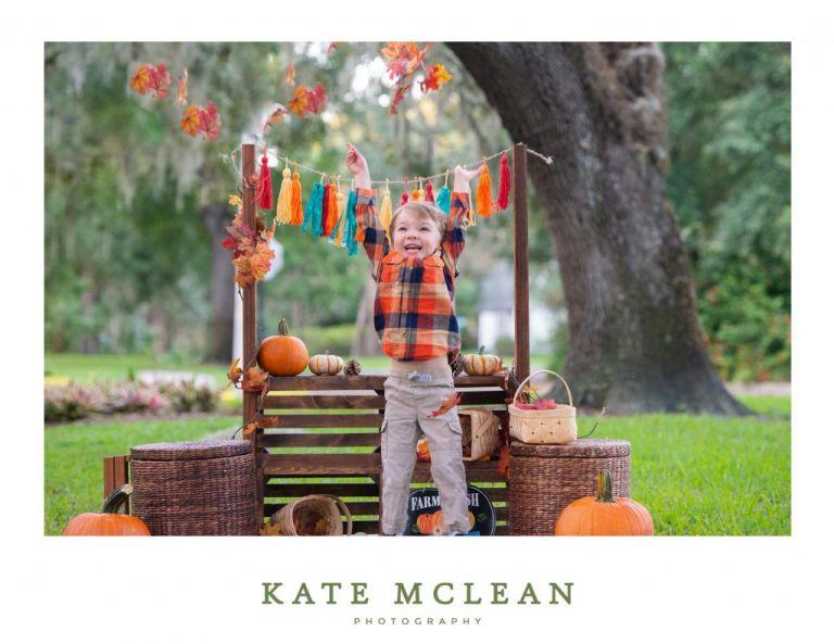 Fall Mini Sessions Sale Leaves Set up Orlando